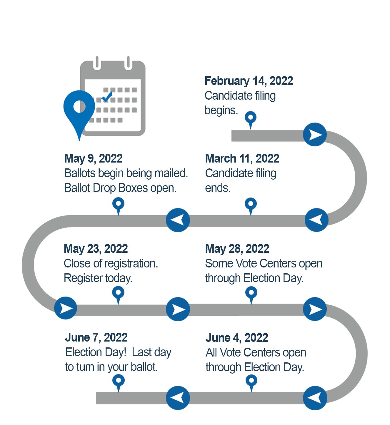 Dcps 2022 23 Calendar.Election Calendar 2022