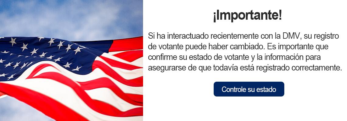 Interactuar con DMV puede cambiar tu registro. Revisa tu estado