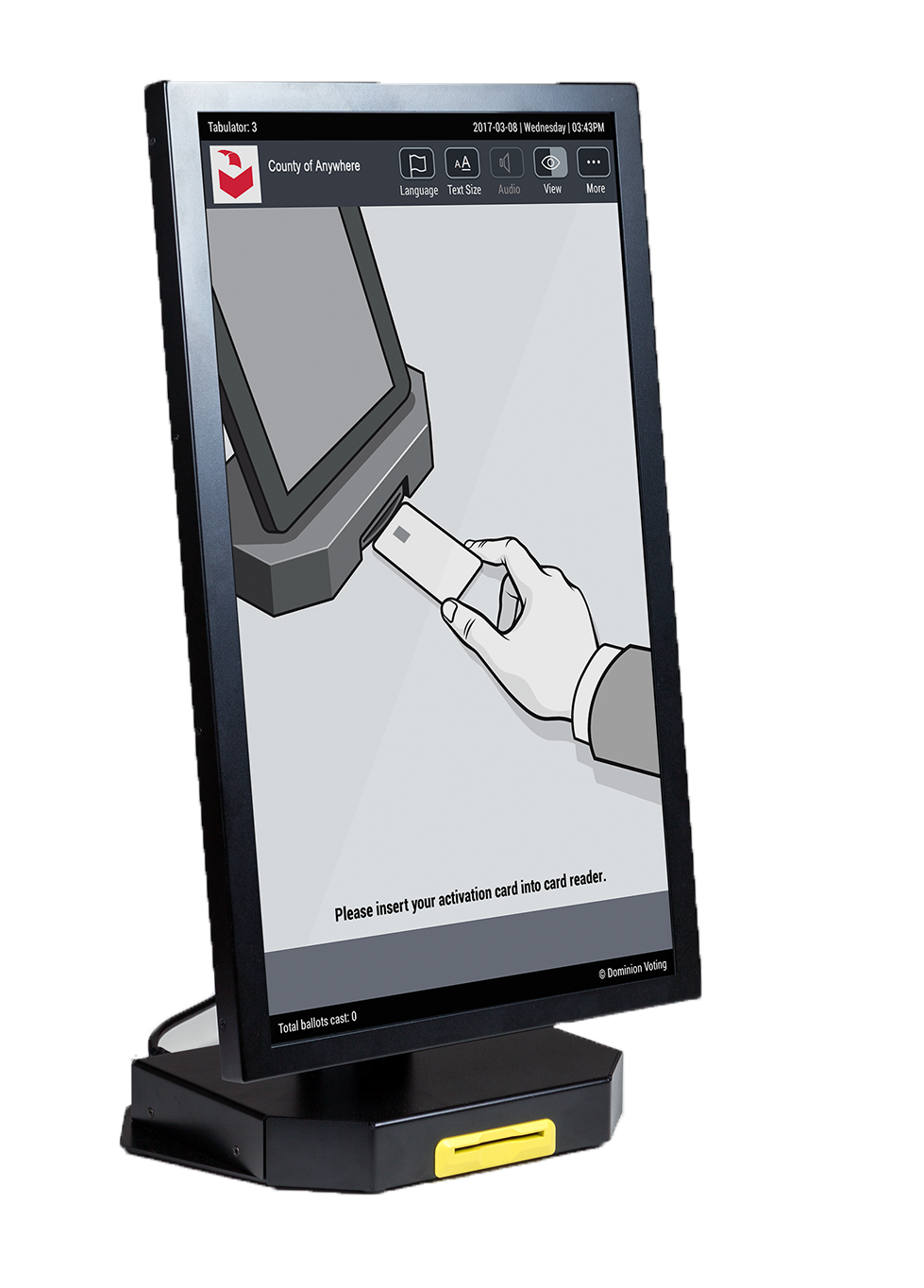 Image Case X Ballot Marking System