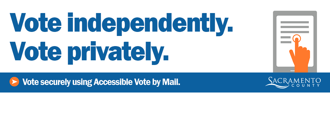 Accessible Vote by Mail