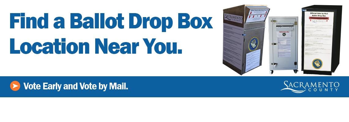 Find a Ballot Drop Box Location Near You