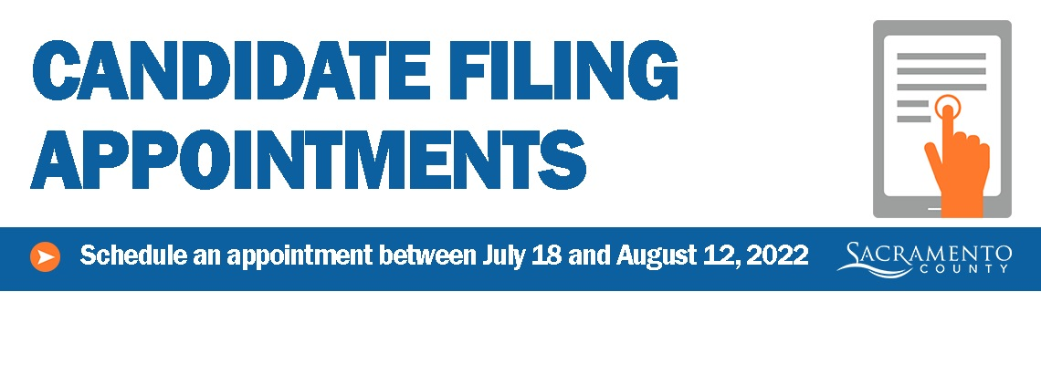 Schedule a Candidate Filing Appointment