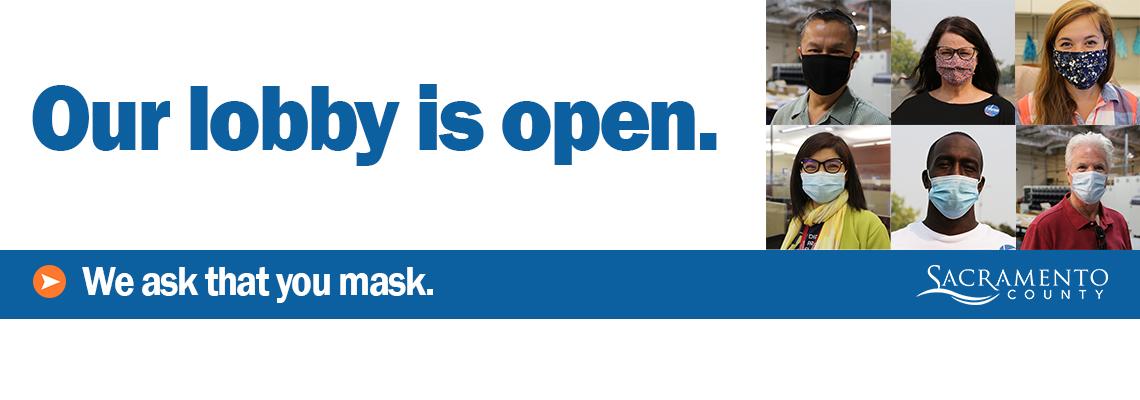 Lobby is open